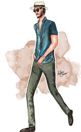 Adam Gallagher by Lubna Omar