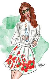 Lana Del Rey by Lubna Omar