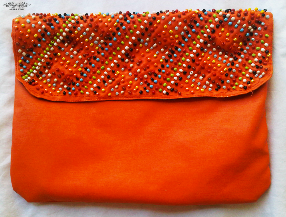 Handmade Criss-Cross Clutch