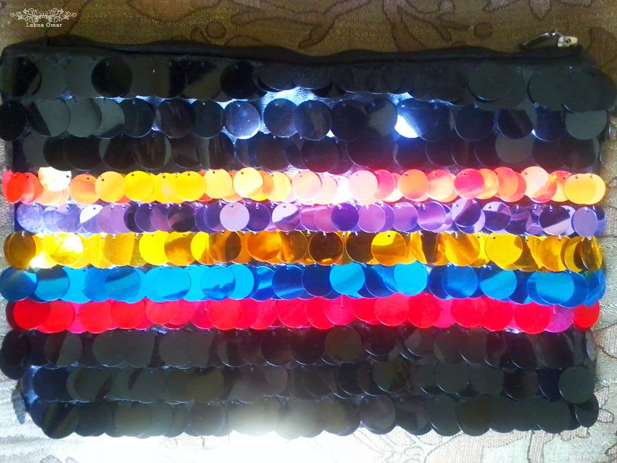 Handmade Paillettes Clutch