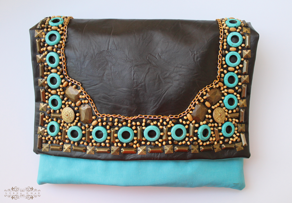 Handmade Matthew Williamson Inspired Clutch