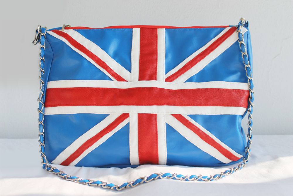 Handmade Union Jack Clutch