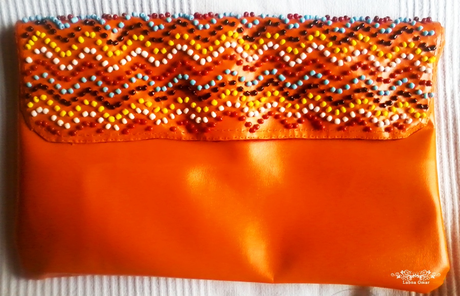 Handmade Tribal Beaded Clutch